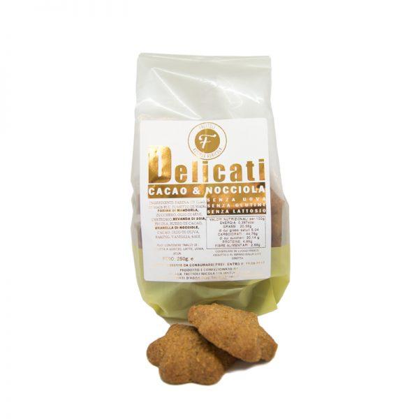 Biscotti Delicati al Cacao e Nocciola - Bottega di Mezzo